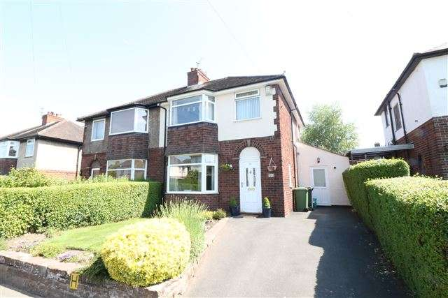 3 Bedrooms Semi Detached House for sale in Knowe Road, Carlisle, Cumbria, CA3 9EQ