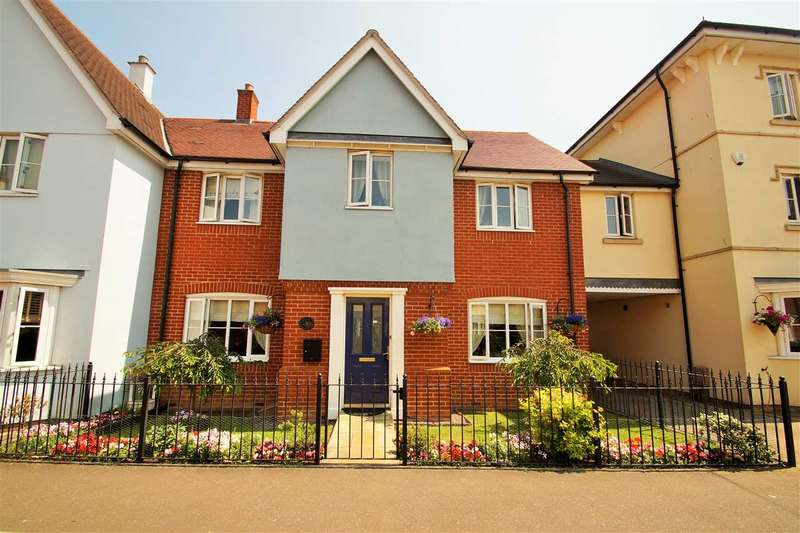 4 Bedrooms Link Detached House for sale in Gratian Close, Myland, Colchester