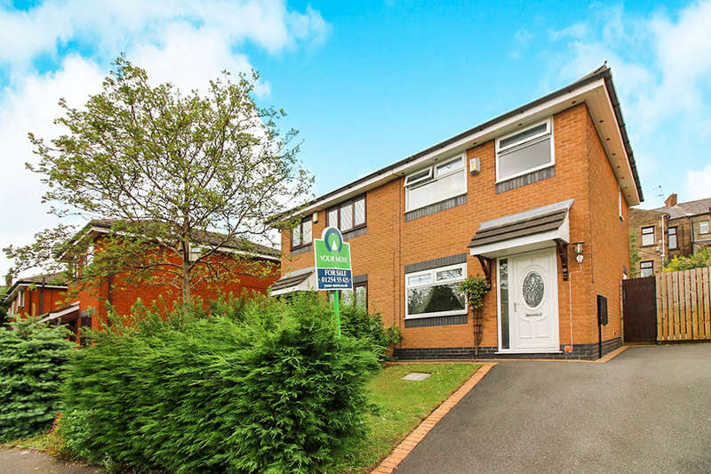 3 Bedrooms Semi Detached House for sale in St. Helier Close, Blackburn, BB2