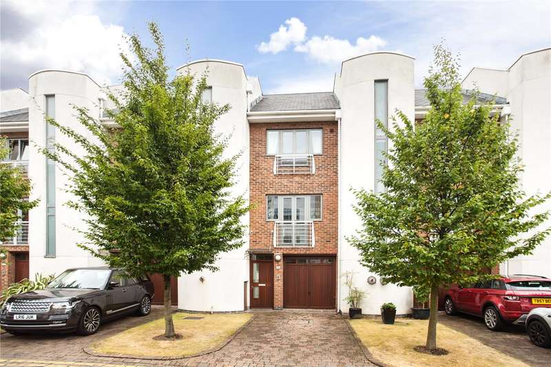 4 Bedrooms Terraced House for sale in Tallow Road, The Island, Brentford, TW8