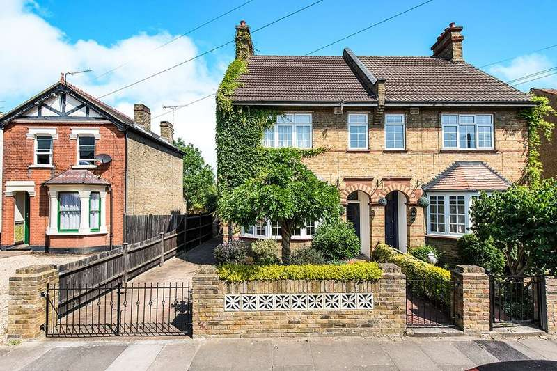 4 Bedrooms Semi Detached House for sale in Cedar Avenue, Whitton, Twickenham, TW2