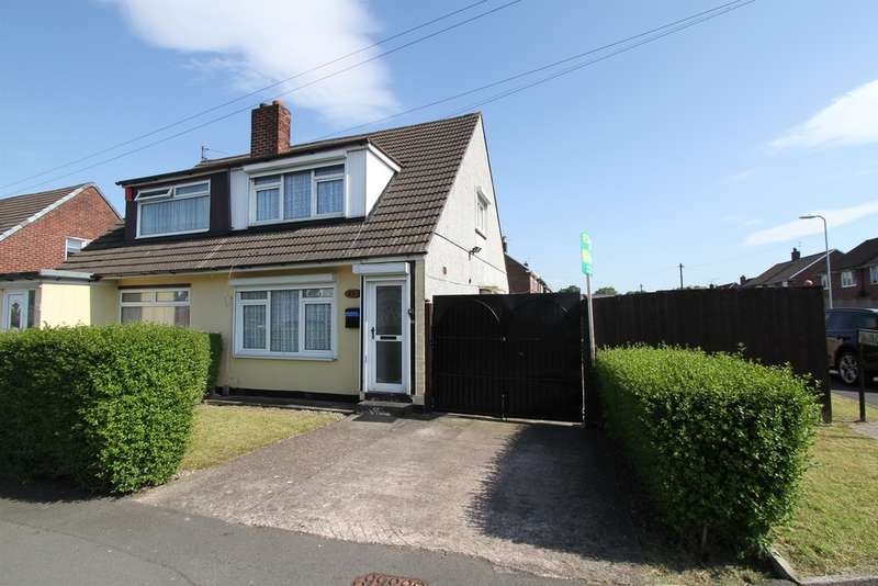 3 Bedrooms Semi Detached House for sale in Mulcaster Avenue, Newport
