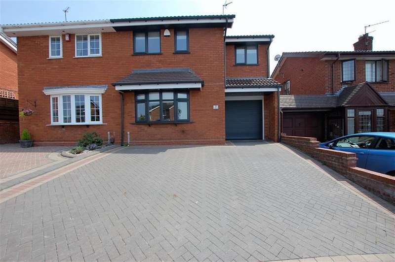 4 Bedrooms Semi Detached House for sale in Cowley Drive, Dudley, DY1 2SS