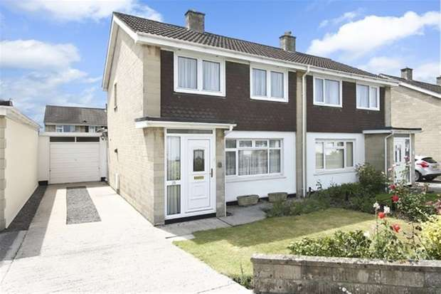 3 Bedrooms Semi Detached House for sale in Woodhayes Road, Frome