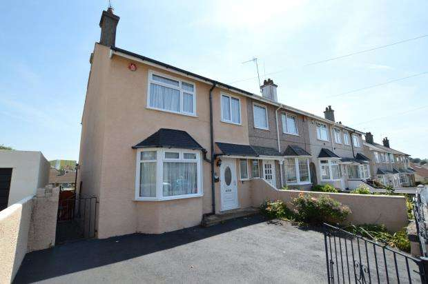 3 Bedrooms End Of Terrace House for sale in Furneaux Road, Plymouth, Devon