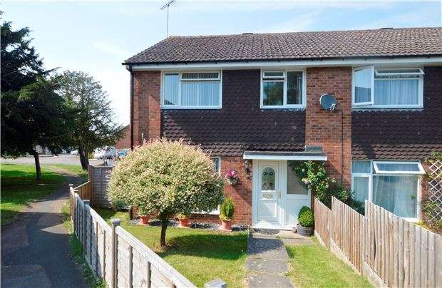 3 Bedrooms End Of Terrace House for sale in Ennerdale Road, CHELTENHAM, Gloucestershire, GL51 3NL