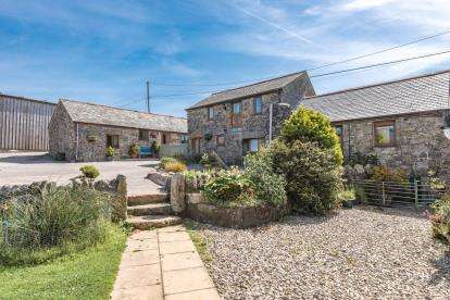4 Bedrooms Barn Conversion Character Property for sale in Newmill, Penzance, Cornwall
