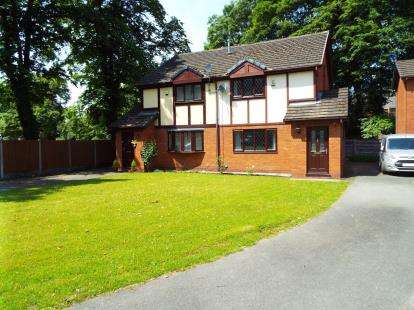 3 Bedrooms Semi Detached House for sale in Old Vicarage Gardens, Worsley, Manchester, Greater Manchester
