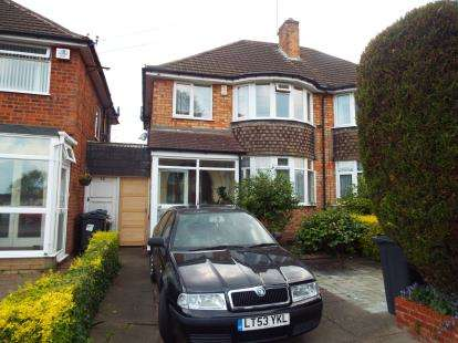 3 Bedrooms Semi Detached House for sale in Rosemary Road, Birmingham