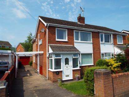 4 Bedrooms Semi Detached House for sale in Bryn Hyfryd, Coedpoeth, Wrexham, Wrecsam, LL11