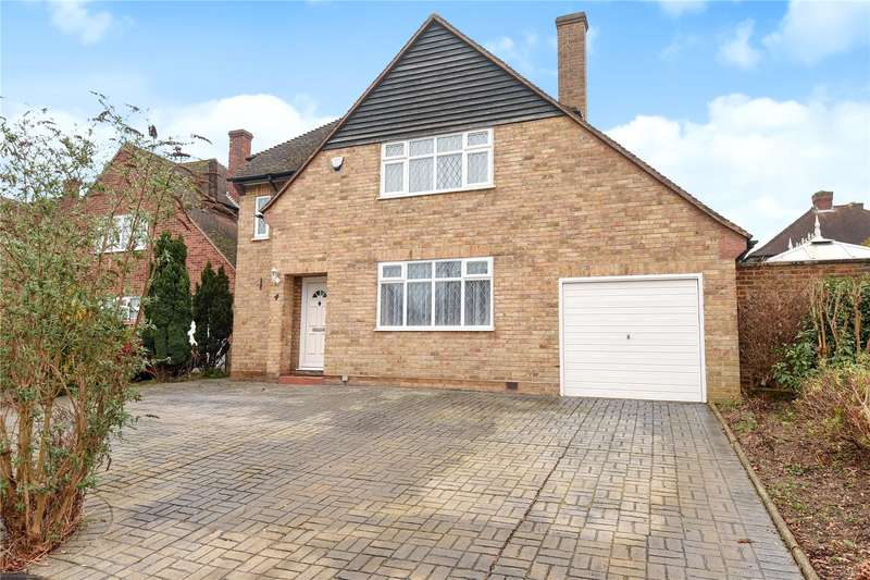 3 Bedrooms Detached House for sale in Croft Close, Hillingdon, Middlesex, UB10