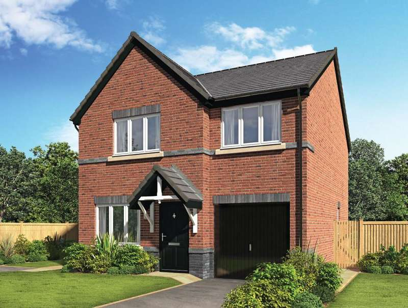 4 Bedrooms Detached House for sale in Plot 31, The Brookline, Riversleigh, Warton, Preston, Lancashire, PR4 1AH