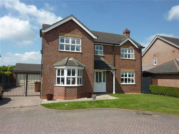 4 Bedrooms Detached House for sale in JOSEPH OGLE CLOSE, NEW WALTHAM, GRIMSBY