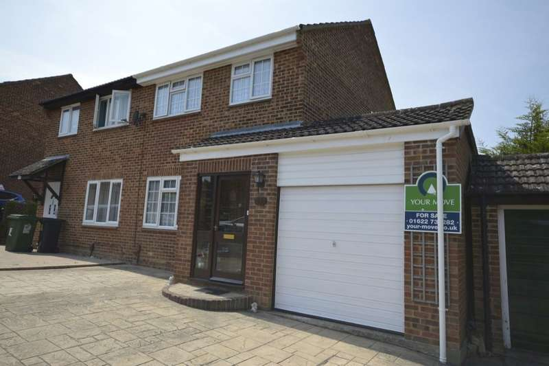 3 Bedrooms Semi Detached House for sale in Reinden Grove, Downswood, Maidstone, ME15