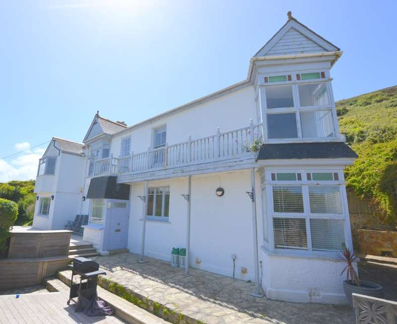 6 Bedrooms Semi Detached House for sale in Seaforth, West Cliff, Porthtowan, Truro, Cornwall, TR4 8AE
