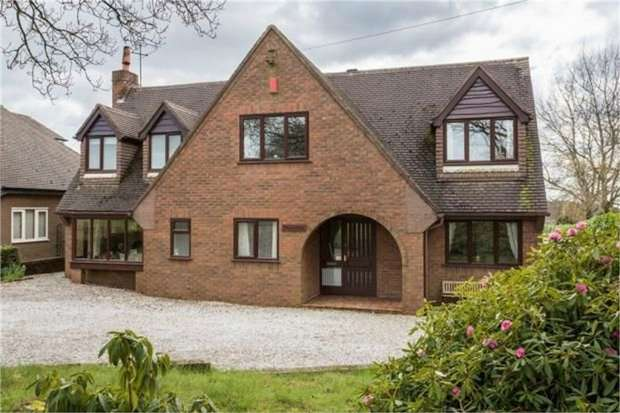 4 Bedrooms Detached House for sale in Mucklestone Wood Lane, Loggerheads, Market Drayton, Staffordshire