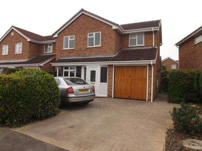 3 Bedrooms Detached House for sale in Hawksley Gardens, Barton Green, Nottingham