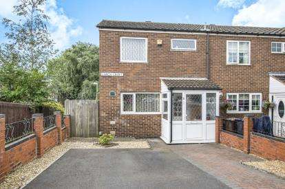 3 Bedrooms End Of Terrace House for sale in Larch Croft, Chelmsley Wood, Birmingham, West Midlands