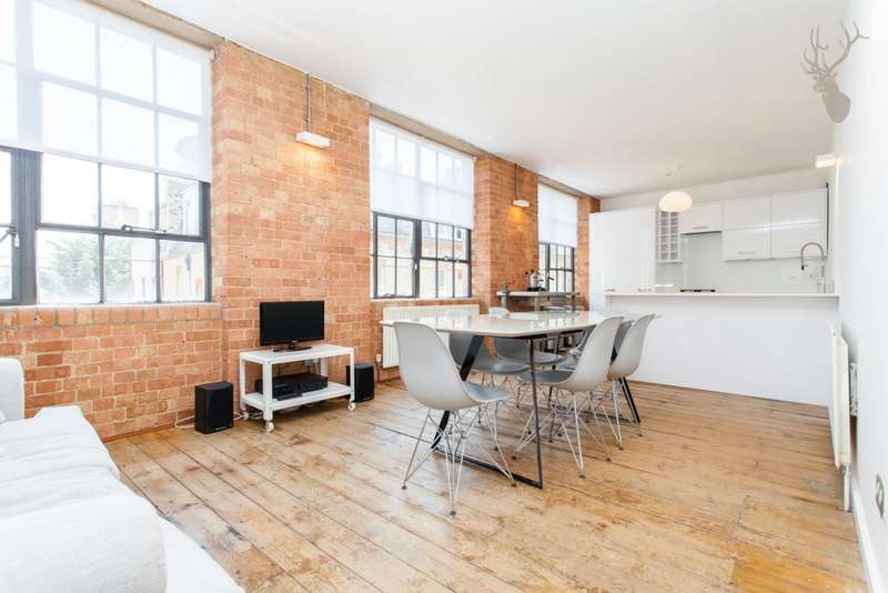 2 Bedrooms Apartment Flat for sale in Rampart Street, Whitechapel, E1