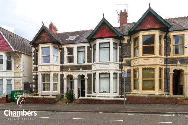 5 Bedrooms Terraced House for sale in Pen-y-Wain Road, Roath, Cardiff, CF24