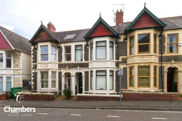 5 Bedrooms Terraced House for sale in Pen-y-Wain Road, Roath, Cardiff, CF24