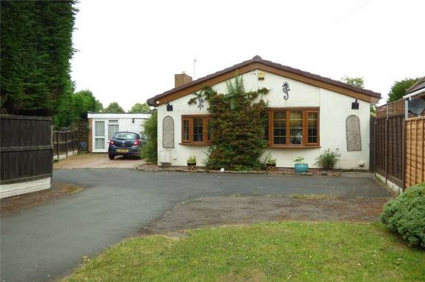 3 Bedrooms Detached Bungalow for sale in Sheepy Road, Atherstone, Warwickshire