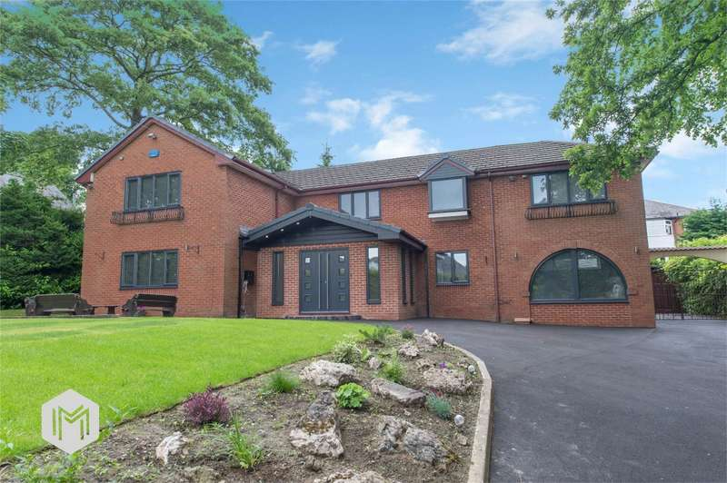 5 Bedrooms Detached House for sale in Albert Road West, Heaton, Bolton, Lancashire