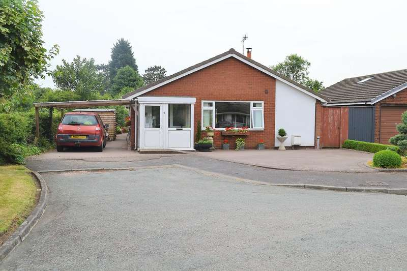 2 Bedrooms Detached Bungalow for sale in The Croft, Kings Bromley