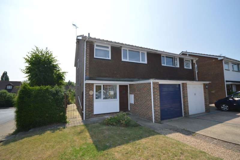 3 Bedrooms Semi Detached House for sale in Wheatsheaf Close, Boughton-Under-Blean, Faversham, ME13