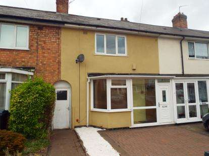 2 Bedrooms Terraced House for sale in Glendon Road, Erdington, Birmingham, West Midlands