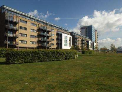 2 Bedrooms Flat for sale in Jones Point House, Ferry Court, Cardiff, Caerdydd