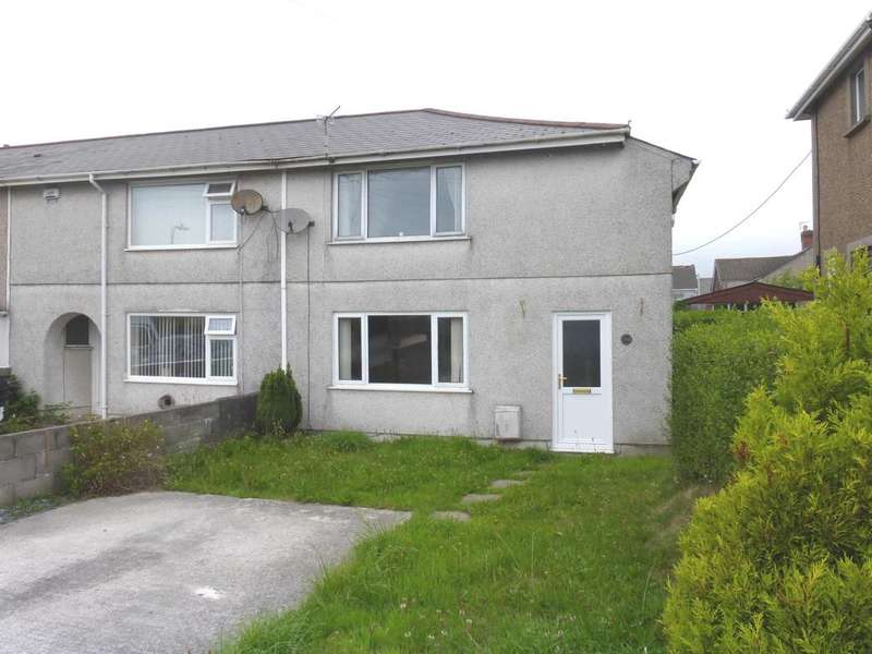 3 Bedrooms End Of Terrace House for sale in North Avenue, Kenfig Hill