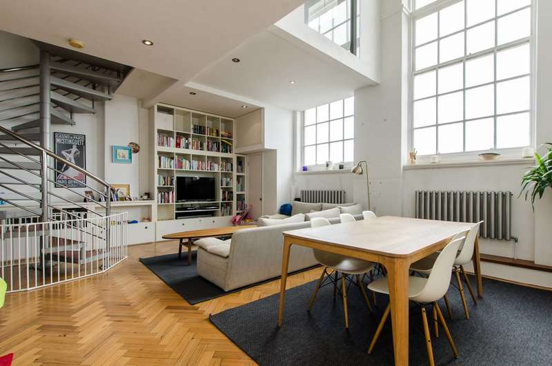 3 Bedrooms Flat for sale in Lyham Road, Brixton, SW2