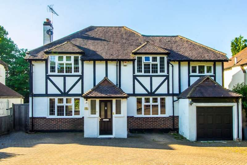 4 Bedrooms Detached House for sale in Grove Wood Hill, Coulsdon, Surrey, CR5