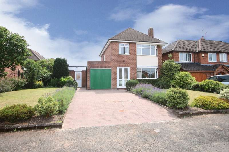 3 Bedrooms Detached House for sale in Poplar Crescent, Norton, Stourbridge, DY8