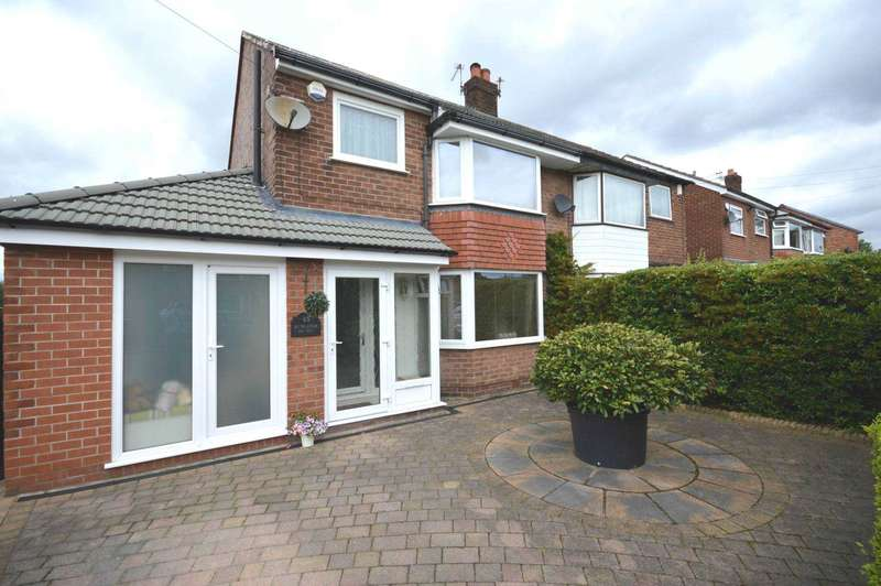 3 Bedrooms Semi Detached House for sale in Newlands Avenue, Cheadle Hulme