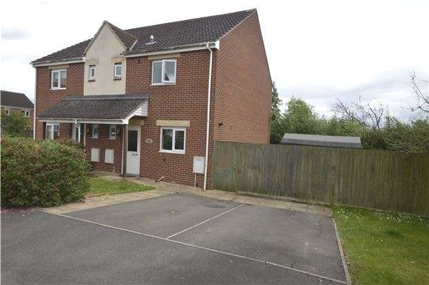 3 Bedrooms Semi Detached House for sale in Bush Close, Eastington, Stonehouse, Glos, GL10 3EY