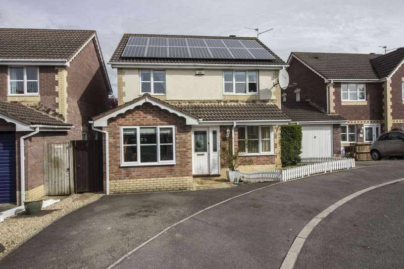 4 Bedrooms Detached House for sale in William Belcher Drive, Cardiff, Caerffili, CF3