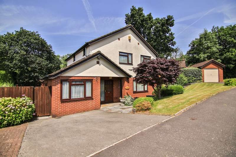 4 Bedrooms Detached House for sale in Blossom Drive, Lisvane, Cardiff