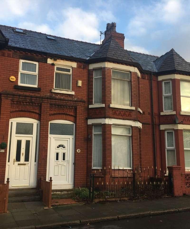4 Bedrooms Terraced House for sale in Earl Road, Bootle, Merseyside, L20 9BU