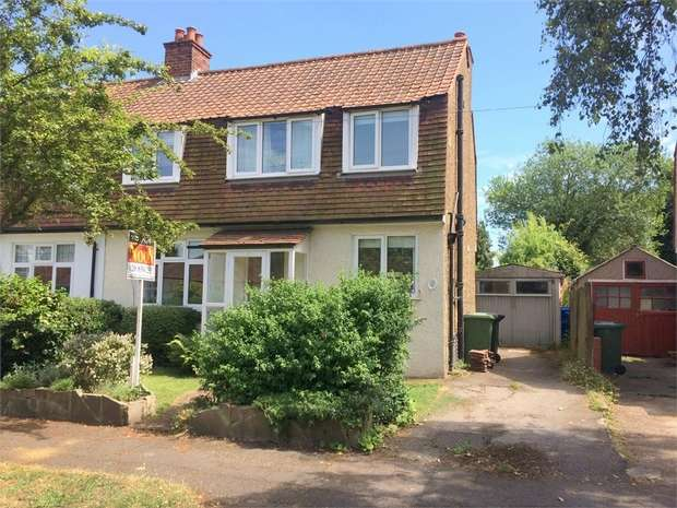 3 Bedrooms Semi Detached House for sale in Corbet Road, Ewell Village