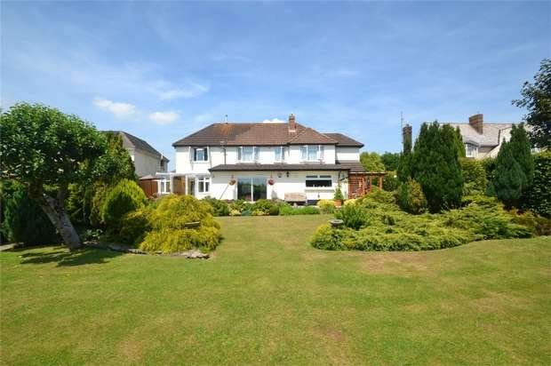 4 Bedrooms Detached House for sale in STICKLEPATH, Barnstaple, Devon