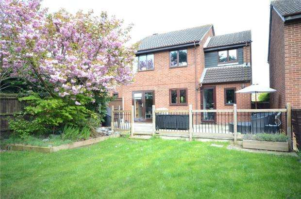 4 Bedrooms Detached House for sale in Ballamoor Close, Calcot, Reading