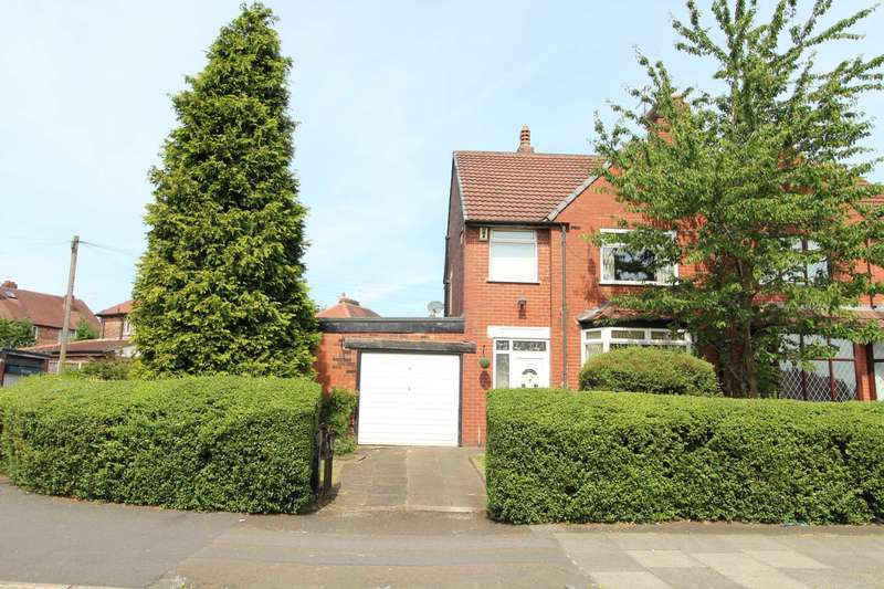3 Bedrooms Semi Detached House for sale in Heywood Road, Manchester