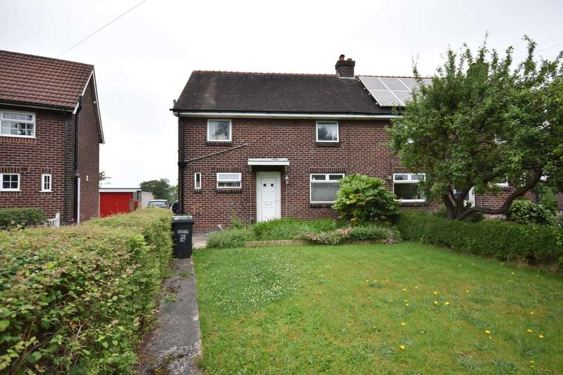 3 Bedrooms Semi Detached House for sale in 23 LOWER PARK CRESCENT, POYNTON