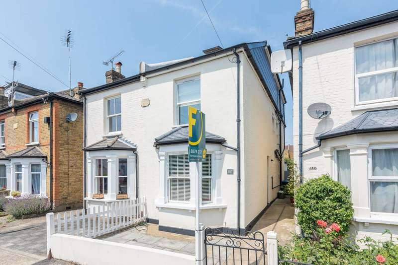 4 Bedrooms Semi Detached House for sale in Canbury Park Road, North Kingston, KT2