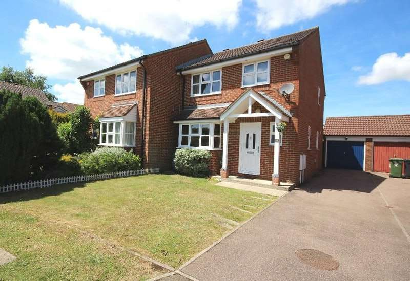 3 Bedrooms Semi Detached House for sale in Keswick Drive, Maidstone, Kent, ME16