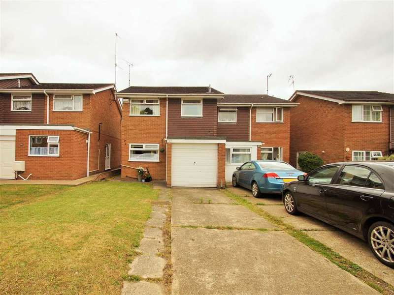 3 Bedrooms Semi Detached House for sale in Bridgefield Close, Colchester