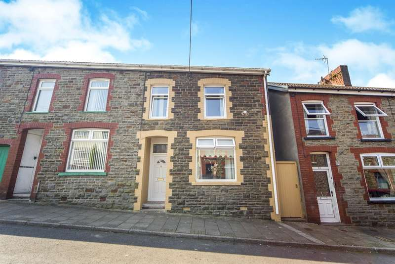 3 Bedrooms End Of Terrace House for sale in Prichard Street, Tonyrefail, Porth