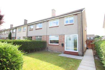 3 Bedrooms End Of Terrace House for sale in Islay Road, Kirkintilloch, Glasgow, East Dunbartonshire